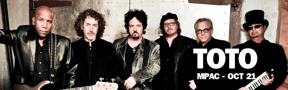 Toto at the MPAC on October 21st!